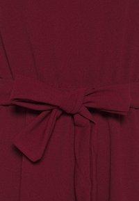 WAL G. - FLARE SKIRT MIDI DRESS - Vestito elegante - wine - 2