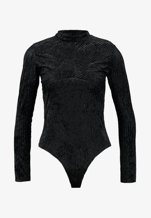 BODY - Bluzka z długim rękawem - black