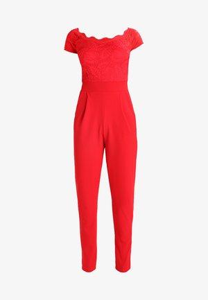 DETAIL - Jumpsuit - red