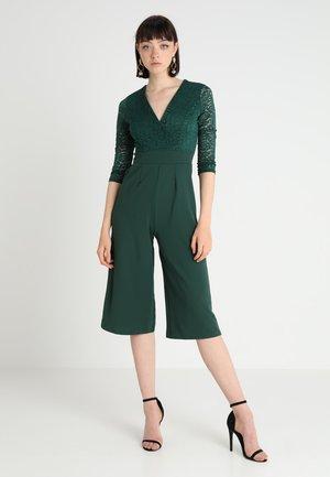 SLEEVE CULOTTE - Jumpsuit - dark green