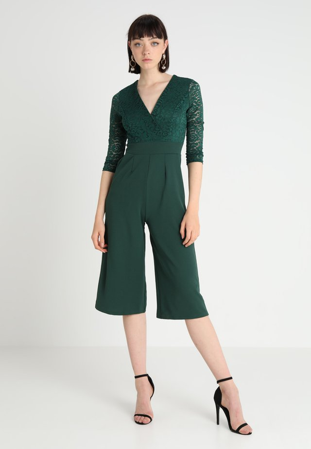 SLEEVE CULOTTE - Tuta jumpsuit - dark green