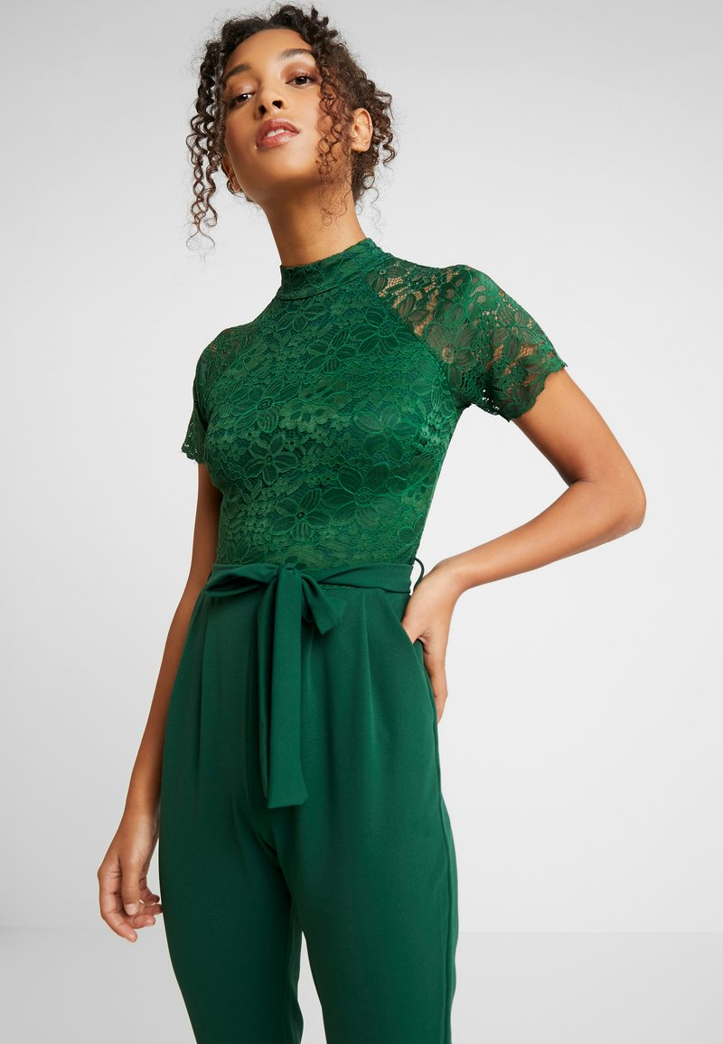 WAL G. - HELCTER NECK - Haalari - forest green