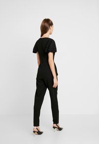 WAL G. - SHORT SLEEVE FRILL SHOULDER - Tuta jumpsuit - black - 2
