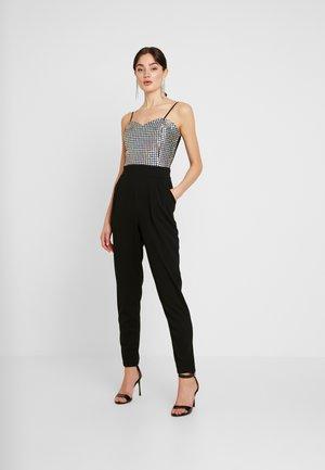 Tuta jumpsuit - disco silver