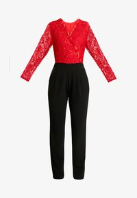 WAL G. - Jumpsuit - red/black - 4