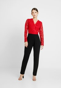 WAL G. - Jumpsuit - red/black - 0