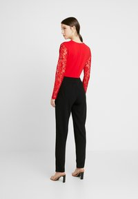 WAL G. - Jumpsuit - red/black - 2