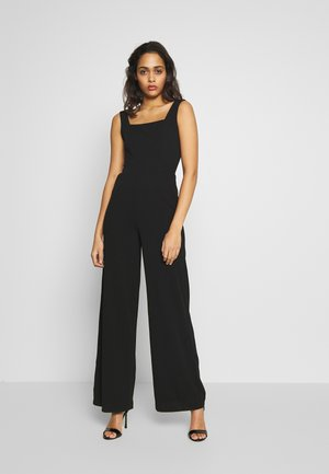 THICK STRAP - Tuta jumpsuit - black