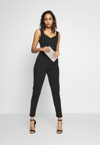 WAL G. - SWEETHEART FITTED - Jumpsuit - black - 1
