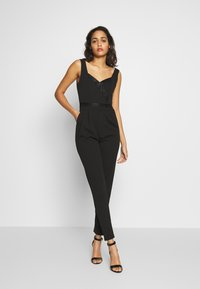 WAL G. - SWEETHEART FITTED - Jumpsuit - black - 0