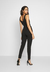WAL G. - SWEETHEART FITTED - Jumpsuit - black - 2