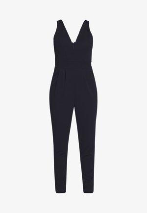 PLUNGE - Jumpsuit - nayy blue