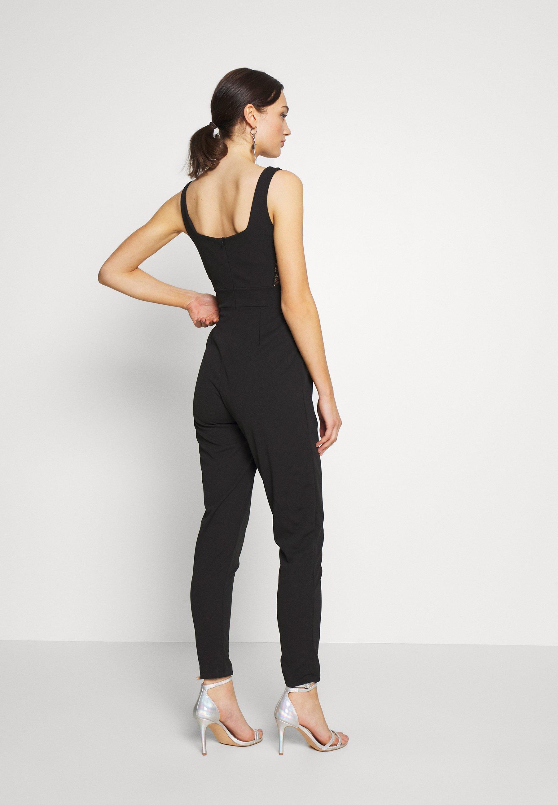 WAL G. SIDE PANEL - Jumpsuit - black