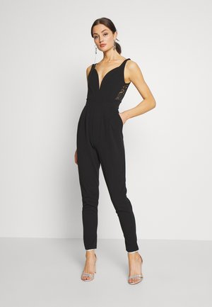 SIDE PANEL - Jumpsuit - black