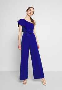 WAL G. - ONE SHOULDER FRILL - Combinaison - electric blue - 0