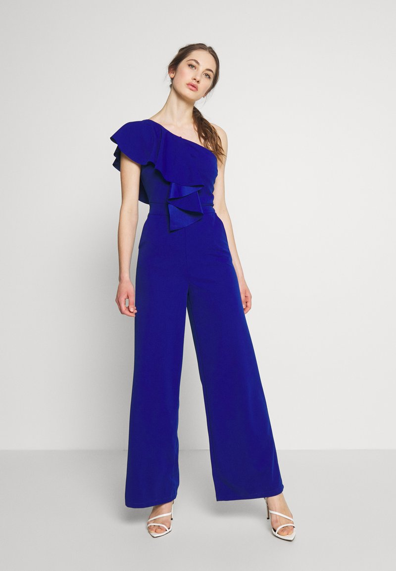 WAL G. - ONE SHOULDER FRILL - Combinaison - electric blue