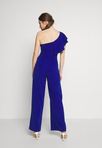 WAL G. - ONE SHOULDER FRILL - Combinaison - electric blue - 2