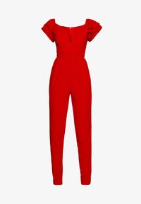 WAL G. - OFF THE SHOULDER MAXI JUMPSUIT - Combinaison - red - 4