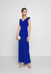 WAL G. - WRAP OVER - Overal - electric blue - 1