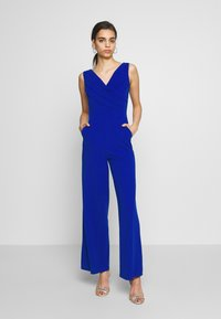 WAL G. - WRAP OVER - Overal - electric blue - 0
