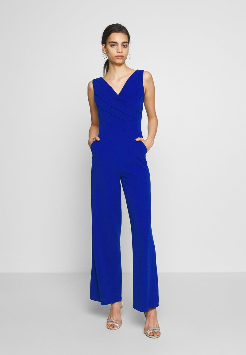 WAL G. - WRAP OVER - Overal - electric blue