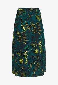 Whistles - ASSORTED LEAVES PRINT SKIRT - A-line skjørt - green/neon yellow - 3