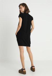 Whistles - V NECK CREPE DRESS - Robe d'été - black - 3