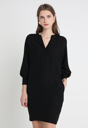 ZETA CUFF DRESS - Korte jurk - black