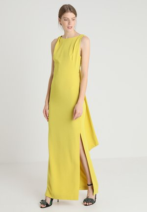TIE BACK DRESS - Abito da sera - yellow