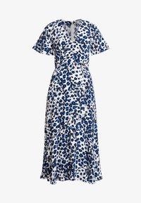 Whistles - BRUSHED LEOPARD BUTTONDRESS - Maxi dress - white - 3