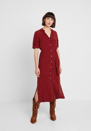 DANA DRESS - Maxi dress - burgundy