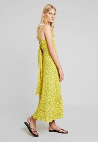 Whistles - LLORA CLOUDED LEOPARD DRESS - Maxikleid - yellow/multi - 1