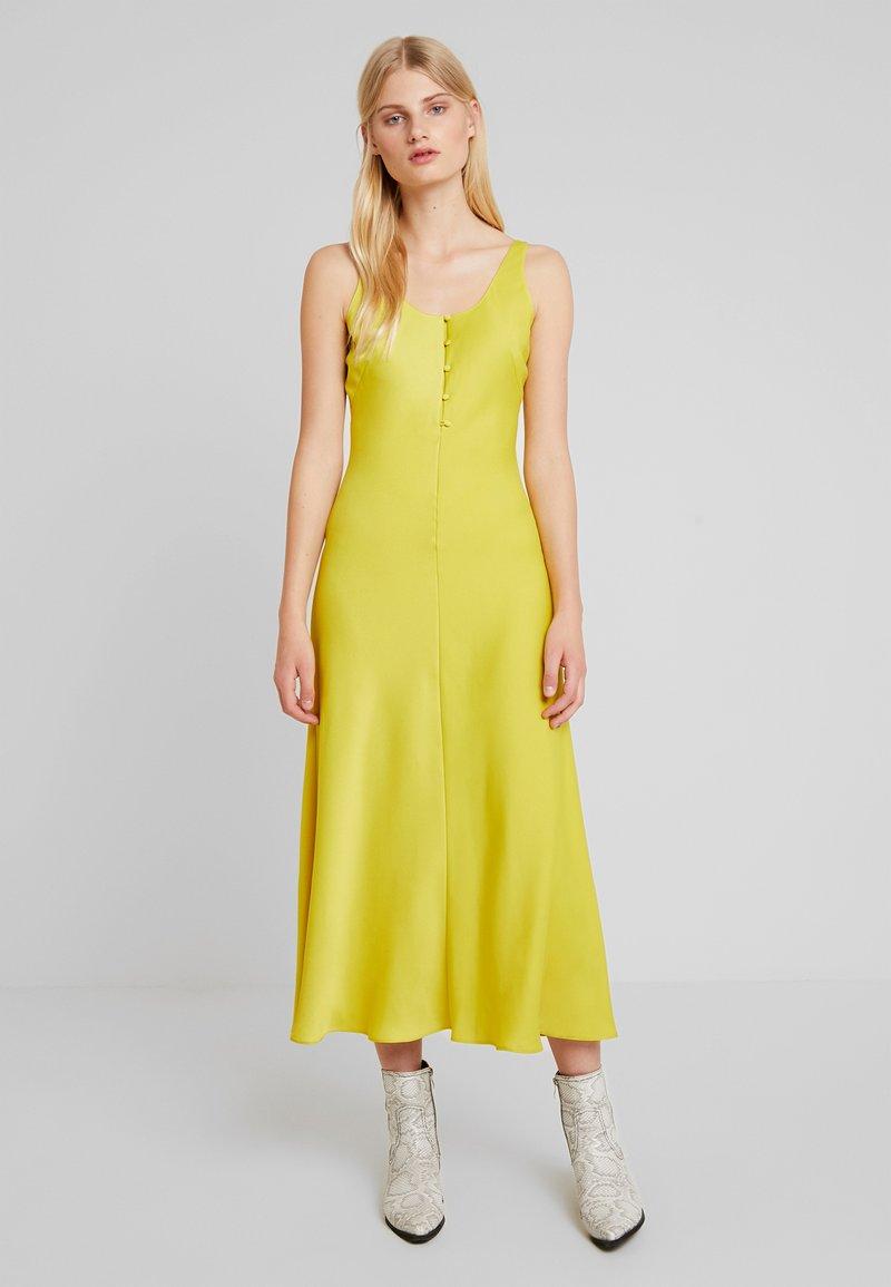 Soirée Whistles DressRobe Pippa De Yellow tQshrd