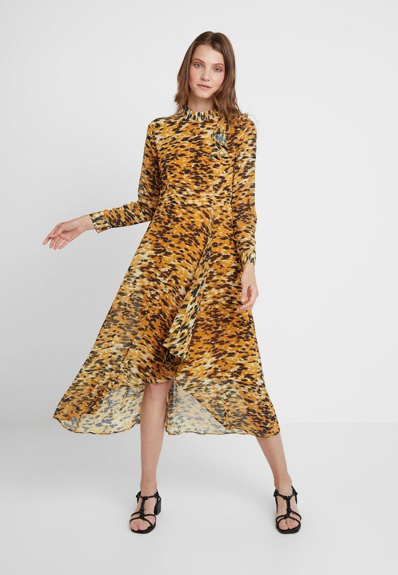 Whistles - IKAT ANIMAL INES DRESS - Denní šaty - multi