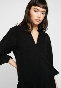 Whistles - SONIA FRILL SLEEVE DRESS - Korte jurk - black - 3