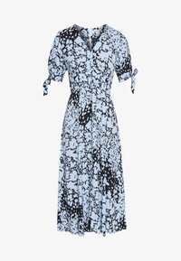 Whistles - NEAVE ANIMAL DRESS - Shirt dress - blue/multi - 4