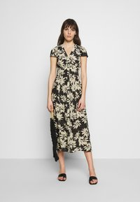 Whistles - STARBURST FLORAL PRINT DRESS - Day dress - black - 2