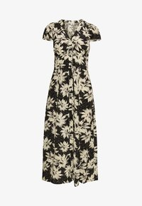 Whistles - STARBURST FLORAL PRINT DRESS - Day dress - black - 7