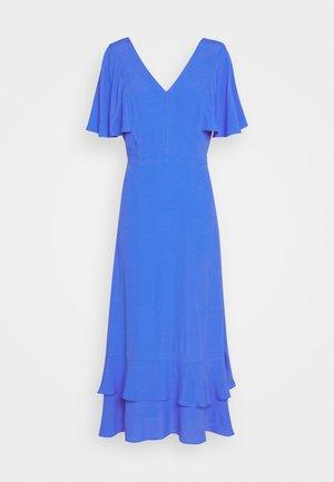 CATHY V NECK DRESS - Day dress - blue