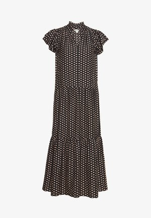 ELEPHANT PRINT MIDI DRESS - Day dress - black