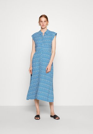 ASTRIX FLORAL DRESS - Shirt dress - blue