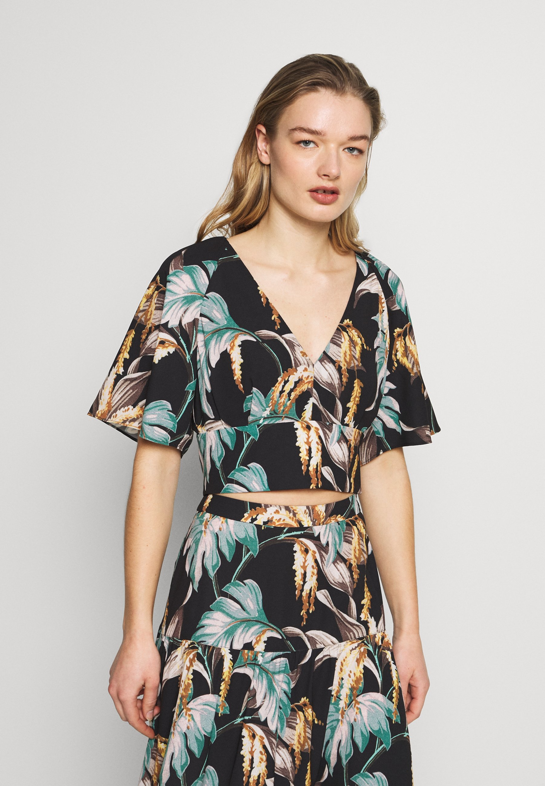 Whistles TROPICAL - Skjorte - green/multi