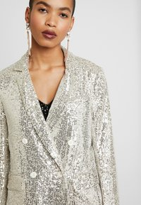 Whistles - DOUBLE BREASTED - Blazer - silver - 6