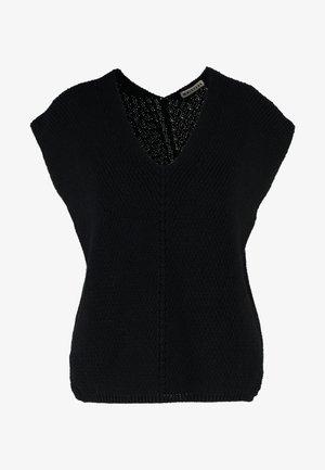 BUTTON BACK  - T-shirts med print - black
