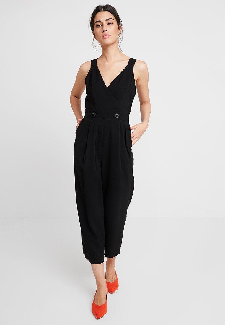 Whistles - LARA BUTTON - Jumpsuit - black
