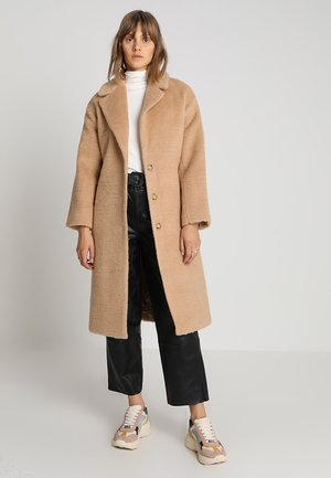 BELTED - Classic coat - camel