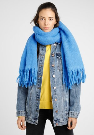 OPEN BLANKET SCARF - Scarf - yellow