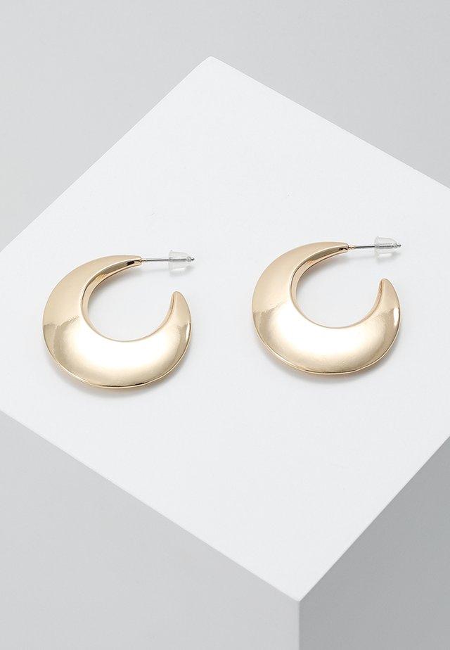 CRESENT HOOP EARRING - Ohrringe - gold-coloured
