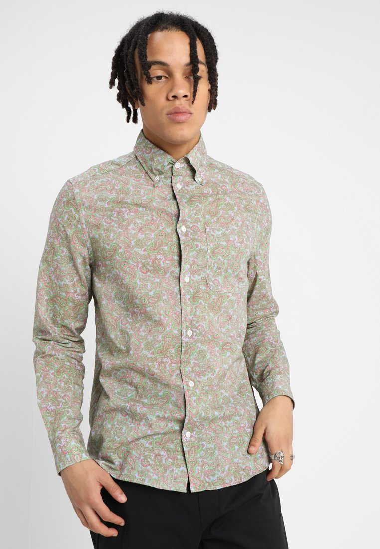 Whyred - MILLS CL PAISLEY - Camisa - light blue