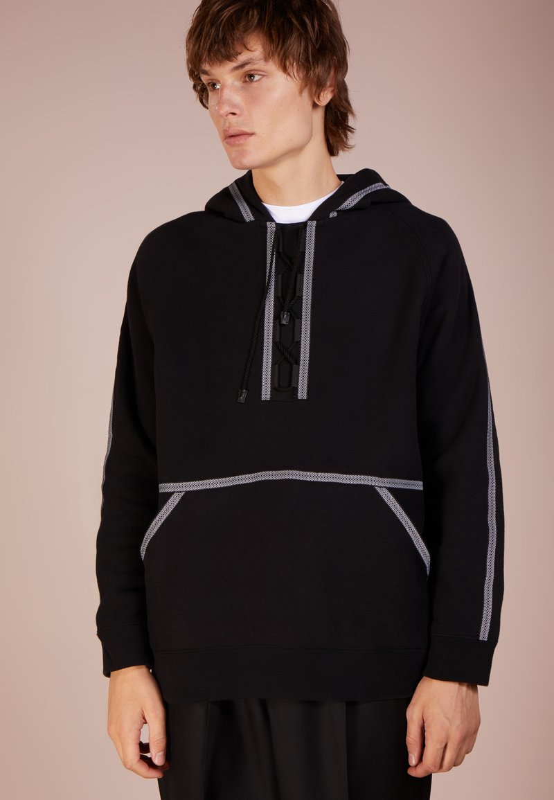 White Mountaineering - Kapuzenpullover - black
